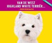 West Highland white terrier cadeauset