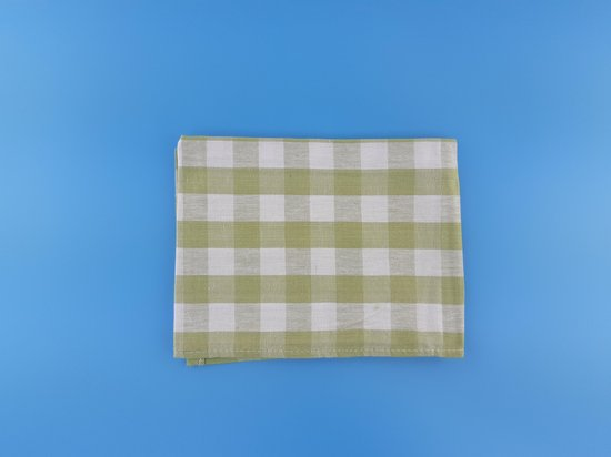 Theedoek -Theedoeken - 50x70 cm - Keukendoek - keukendoeken - Groen -100% katoen
