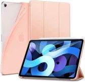 ESR Rebound Slim Apple iPad Air 2020 Hoes Tri-Fold Book Case Rose Gold