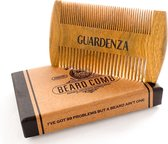 Guardenza Baardkam - antistatisch sandelhout - om baardolie of baarbalsem goed te verdelen