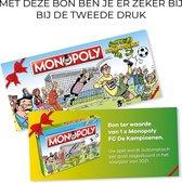 Kampioenenbon herdruk Monopoly FC De Kampioenen