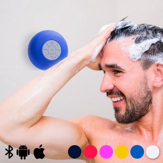 Waterproof Draadloze Bluetooth Speaker - Wireless Douche & Badkamer Mp3...