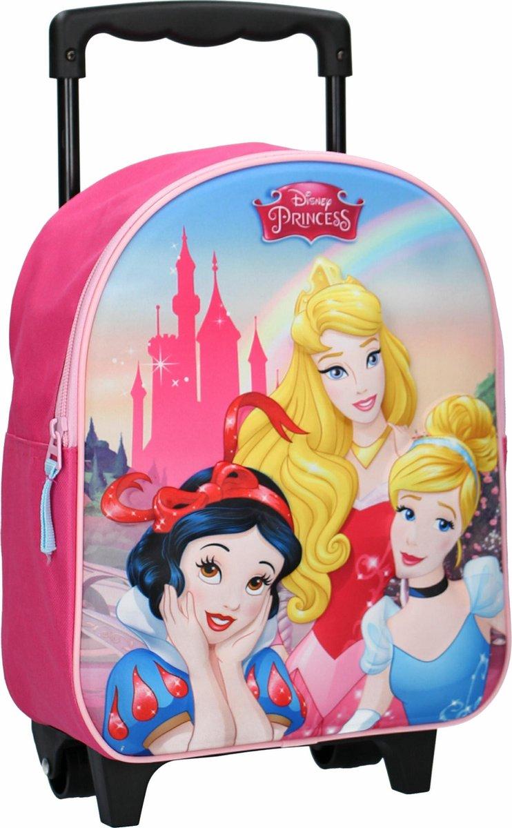Disney Trolley Rugzak Princess Enchanted 3d - Roze