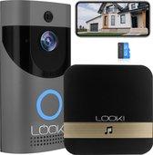 Looki® Draadloze Video Deurbel - 720P HD- Beweging