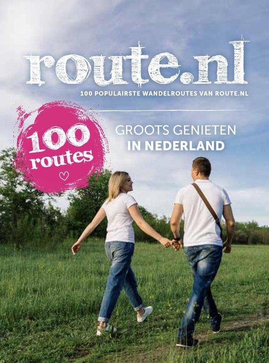 Boek cover Wandelgids 1 -   route.nl Groots Genieten in Nederland Wandelen van  (Paperback)