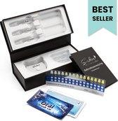 Tandenbleekset - Incl. Teeth Whitening Strips + Wipes - Wittere Tanden - Tanden Bleekset - Zonder Peroxide - Premium Edition
