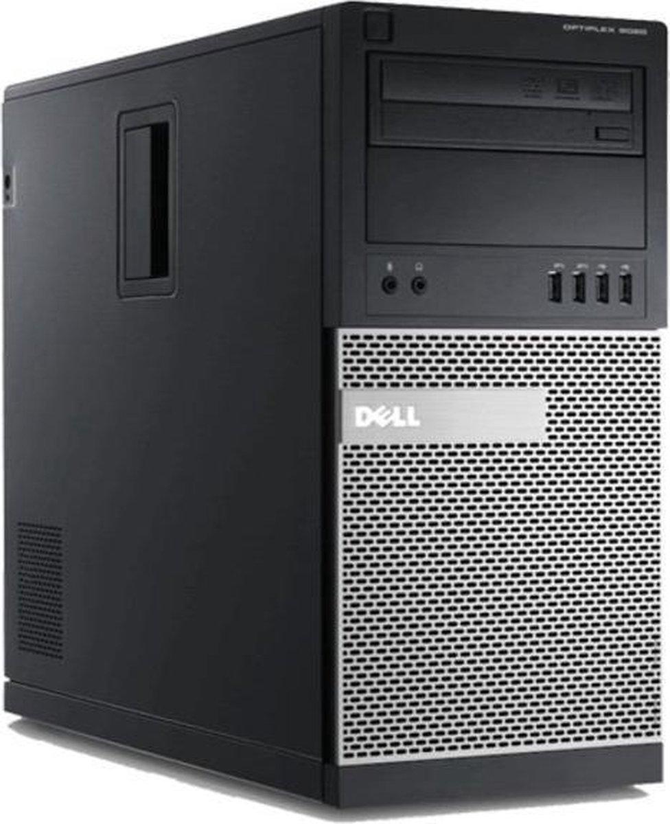 Dell Optiplex 9020 Tower Desktop – Refurbished door Daans Magazijn – 8GB RAM – 128GB SSD – i7-4790 – A-grade