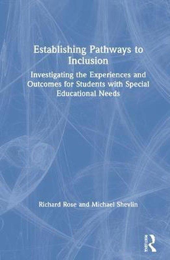 Boek cover Establishing Pathways to Inclusion van Richard Rose (Hardcover)