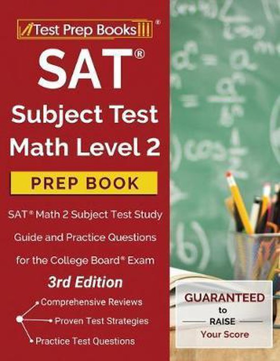 SAT Subject Test Math Level 2 Prep Book