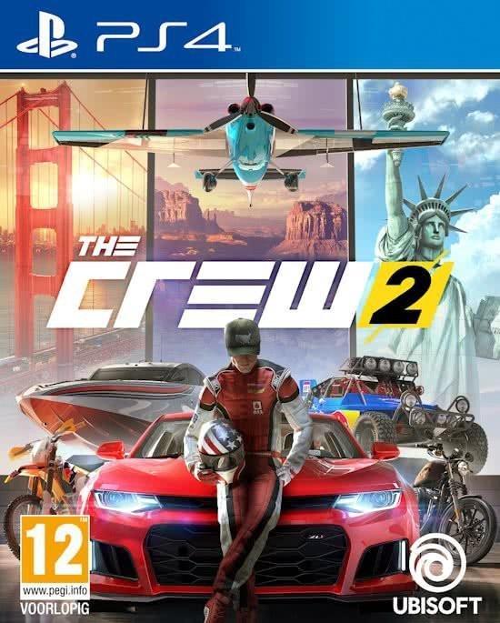 Cover van de game THE CREW 2 - PS4