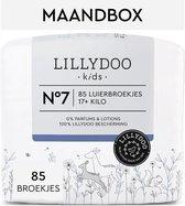 LILLYDOO luierbroekjes - Maat 7 (17+ kg) - 85 Stuks - Maandbox