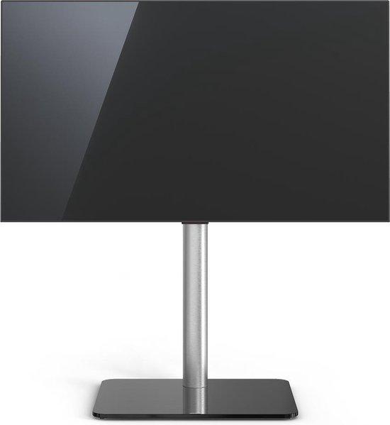 """Just-Racks TV600-BG (zwart glas) tv-standaard voor 40"""" - 65"""" televisies"""