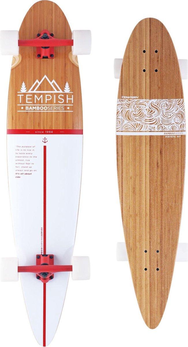 Tempish Longboard Flow 109 X 23 Cm Blank/wit