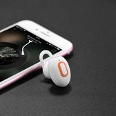 Hoco E28 Cool Road Bluetooth Headset (Wit)