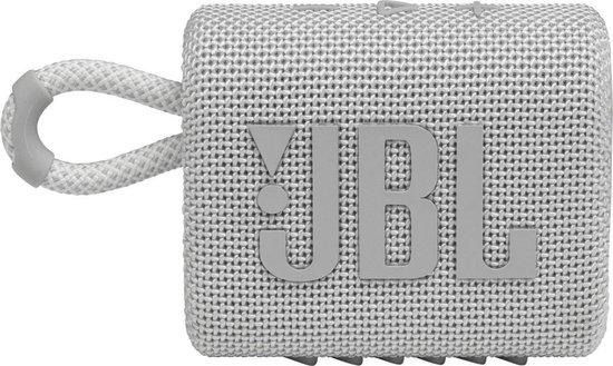 JBL Go 3 mini luidspreker – wit