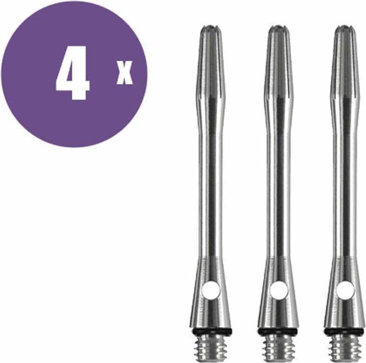 ABC Darts Shafts - Aluminium Naturel - In Between - 4 sets dartshafts