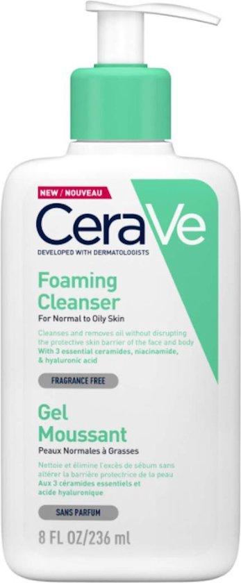 CeraVe Foaming Facial Cleanser 236 ml - gezichtsreiniger - skin care -