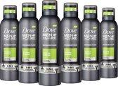Dove Men+Care Extra Fresh Doucheschuim - 6 x 200 ml - Voordeelverpakking