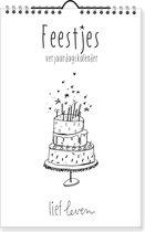 Lief Leven | Verjaardagskalender | kalender | iedere maand ander gedicht