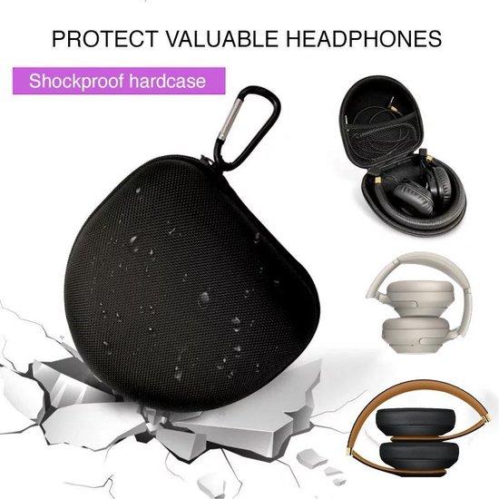 Koptelefoon Case - Headphone Hardcase - voor On-ear en Over-ear Koptelefoons zoals JBL, Sony, Bose, Beats by Dre, WISEQ, Marshall etc.