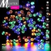 Meisterhome 400 led Multicolor - Kerstboom verlichting sfeer verlichting -Decoratie  Voor binnen & buiten - IP44 - CE GS TüV - 35m