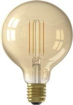 Calex Smart LED Filament Gold Globe-lamp G95 7W