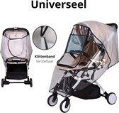Universele Regenhoes – Kinderwagen – Buggy – Universeel - Waterdicht – Wandelwagen - Eco vriendelijk – Transparant - Baby - Regen - Wind