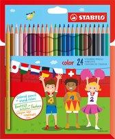 STABILO Color Kleurpotloden - Etui 24 kleuren