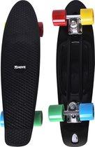 Move Classic Blue Longboard Skateboard
