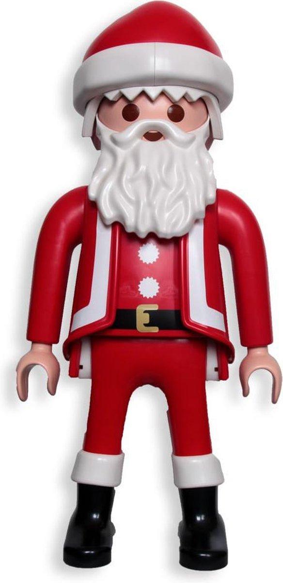 Playmobil Christmas: Xxl Kerstman (6629) in bruine Playmobil doos!