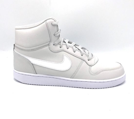 Nike Ebernon Mid - Vast Grey/White/Blackened Blue - Maat 40.5