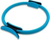 Pilates Ring Blauw - Buikspiertrainer - Heup Trainer - Sixpack Trainer - Fitness Ring - Sport Ring - Yoga Ring - Beentrainer - Thuis sporten - Train uw Armen en Benen - Fitnessmaterialen - Fitness Artikelen - Trainingsmaterialen - 38cm