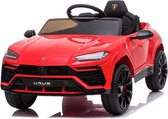 Lamborghini Urus, elektrische kinderauto, rubberen banden, leder zitje! + afstandsbediening  - accu auto voor kinderen  - elektrische kinderauto