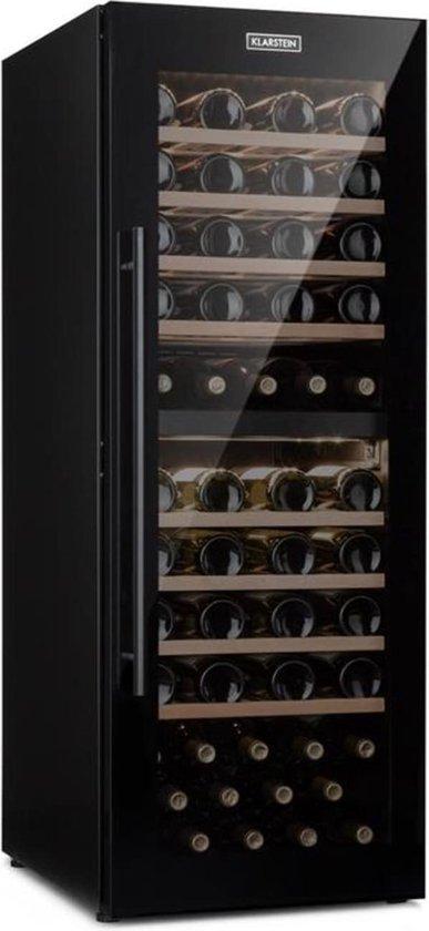 Koelkast: Barossa 77 Duo - Wijnkoelkast - 77 flessen, van het merk Klarstein