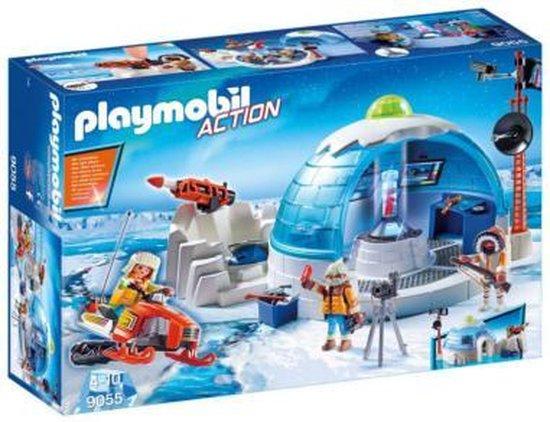 PLAYMOBIL Hoofdkwartier Poolexpeditie  - 9055