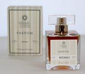 Patchouly Parfum (een krachtige kruidige Patouchli parfum) van het Parfumhuis La Bastide des Aromes. (met GRATIS rozen anti age Handcrème)