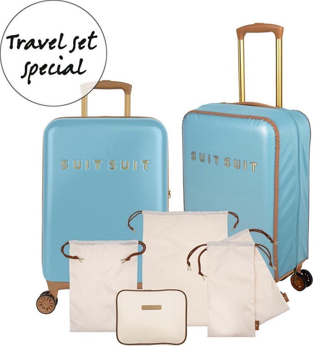 Fab Seventies - Reef Water Blue - Special Travel Set (55 cm)