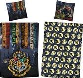 Harry Potter Dekbedovertrek 9¾ - Eenpersoons - 140  x 200 cm - Polyester