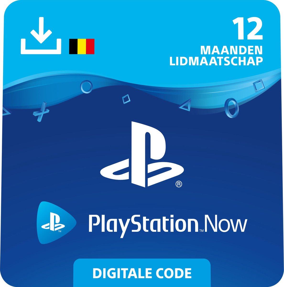 Sony Playstation Now: 12 Maanden Lidmaatschap - BE