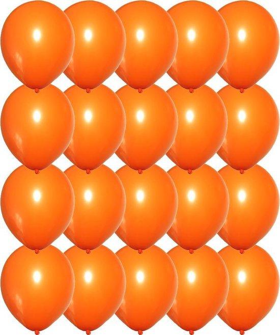 Premium Kwaliteit Latex Ballonnen, Oranje, 20 stuks, 12 inch (30cm) , Koningsdag set, Verjaardag, Happy Birthday, Feest, Party, Wedding, Decoratie, Versiering, Miracle Shop