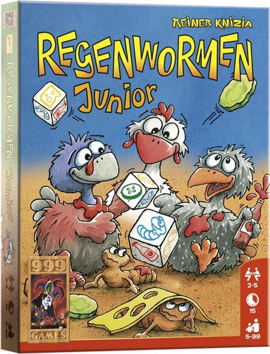 Regenwormen Junior - Dobbelspel