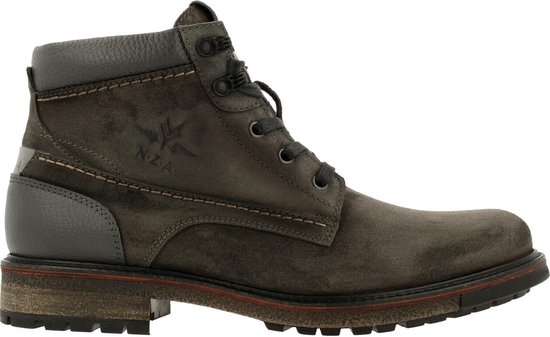 New Zealand Auckland Nelson Mid Sue Ankle Boot/Bootie Men Dark Gray 41