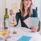 Set kaarten met wijn quotes - Set van 5 kaarten - Happy Wine Cards – Mix