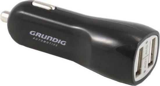 autolader USB 12/24 Volt 1/2,1 Ampère zwart
