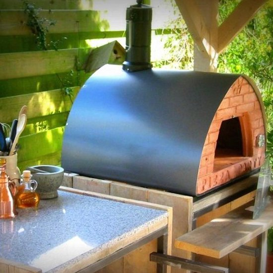 Pizza oven op hout 70×70 -Pizza Party