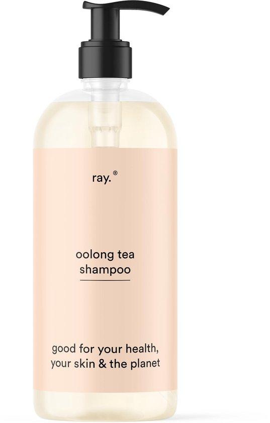 Ray - Shampoo - Natuurlijk en Plantaardig - Best voor vettig, normaal, gekleurd & droog haar - Zonder Siliconen & Sulfaat - Oolong Tea parfum - 500ml