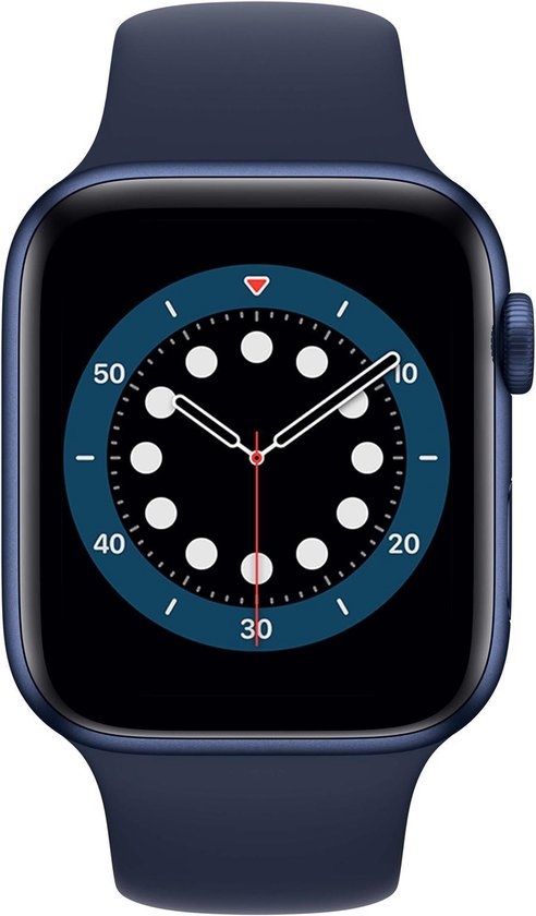 Apple Watch Series 6 - 44 mm - Blauw