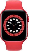 Apple Watch Series 6 - 44 mm - Rood