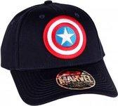 Marvel - Captain America Logo Black Snapback