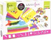 Vaessen Creative Knutselpakket voor Kinderen met meer dan 1000 Items